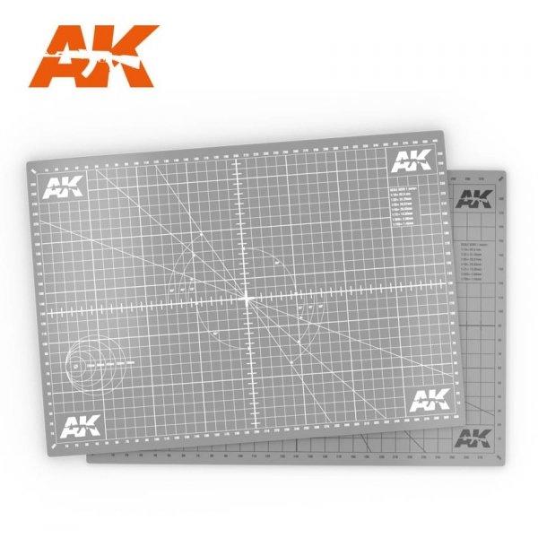 AK Interactive AK 8209-A3 SCALE CUTTING MAT A3