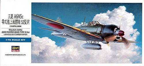 Hasegawa D23 A6M5c Zero Type 52Hei (1:72)