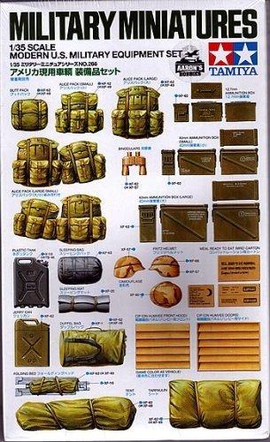 Tamiya 35266 Modern U.S. Military Equipment Set (1:35)