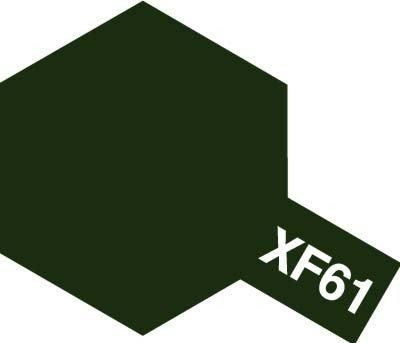 Tamiya XF61 Dark Green (81761) Acrylic paint 10ml