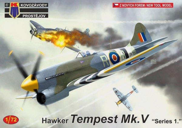 """Kovozavody Prostejov KPM0221 Tempest Mk.V """"Series 1."""" 1/72"""