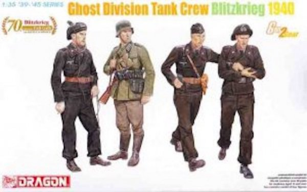 Dragon 6654  Ghost Div.Tank Crew 1940 (1:35)
