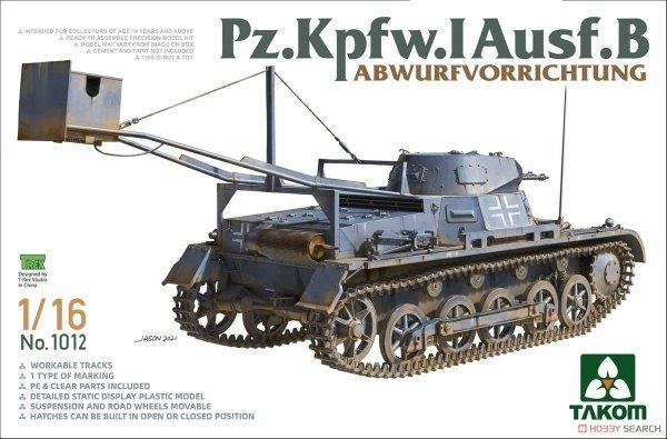Takom 1012 Pz.Kpfw. I Ausf.B Abwurfvorrichtung 1/16