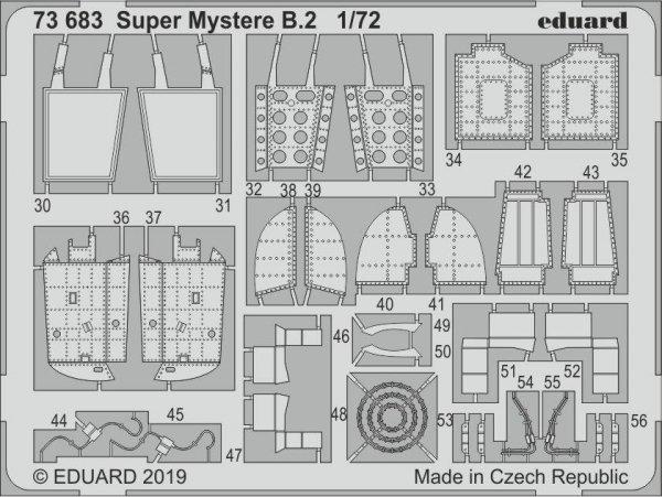 Eduard BIG72152 Super Mystere B.2 1/72 SPECIAL HOBBY