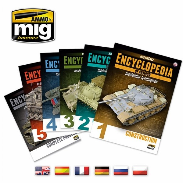 Ammo of Mig 6149 COMPLETE ENCYCLOPEDIA OF ARMOUR MODELLING TECHNIQUES (English)
