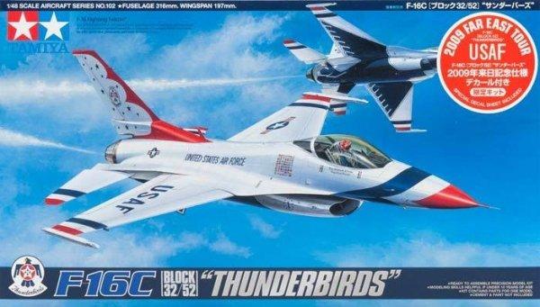 Tamiya 89799 F-16C Thunderbird 2009 (1:48)