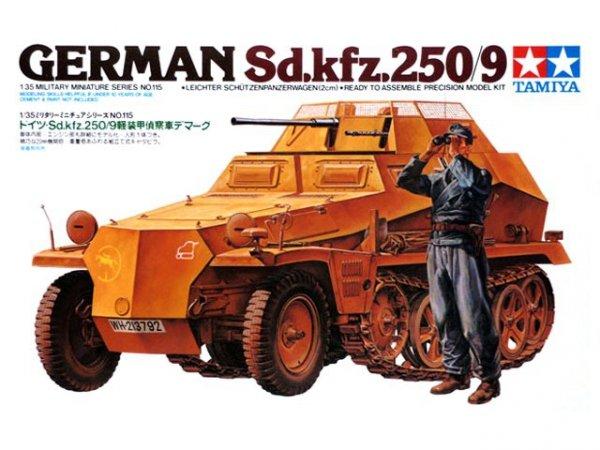 Tamiya 35115 German SDKFZ 250/9 (1:35)