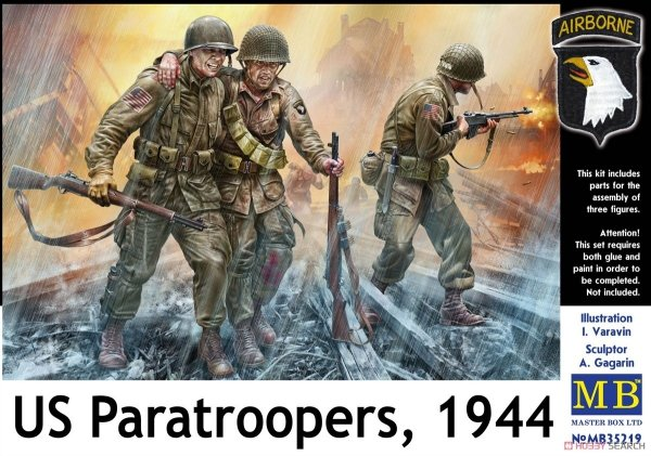 Master Box 35219 US Paratroopers 1944 1/35