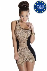 LEO DRESS beżowa sukienka