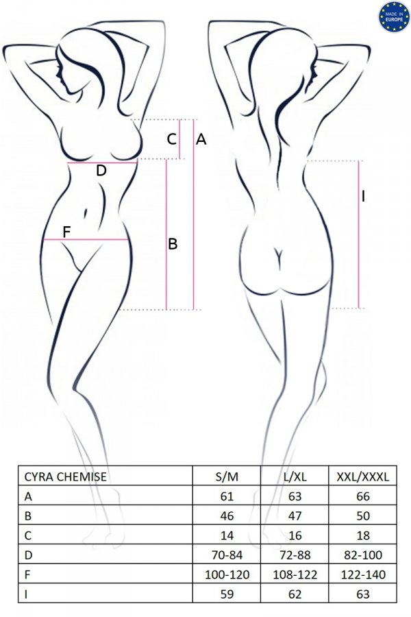 CYRA CHEMISE