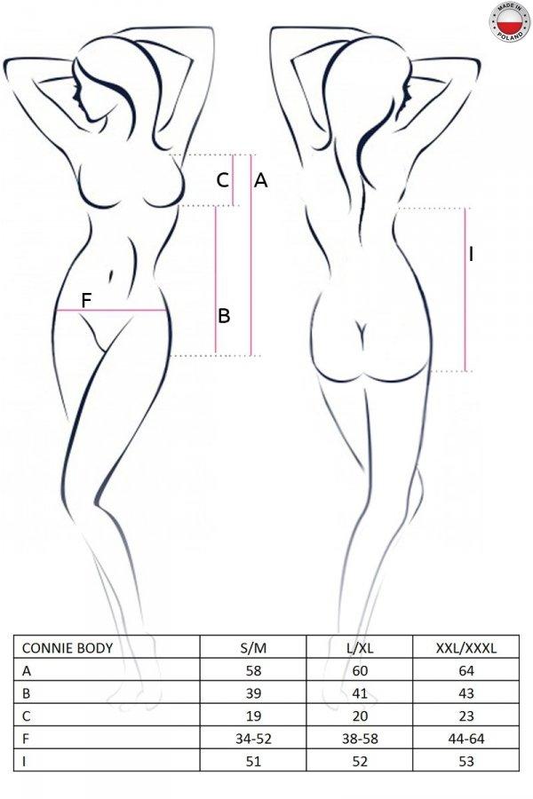 CONNIE BODY czarne body