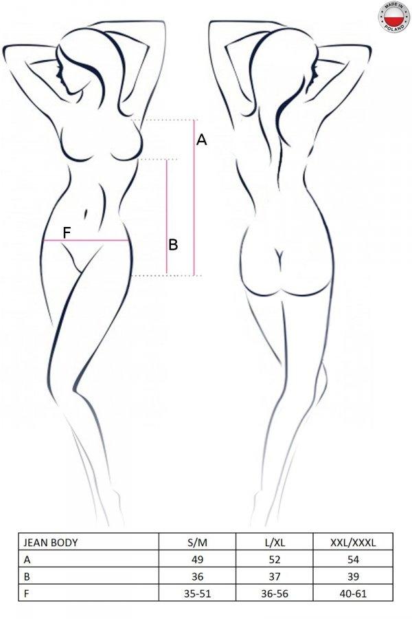 JEAN BODY czarne body