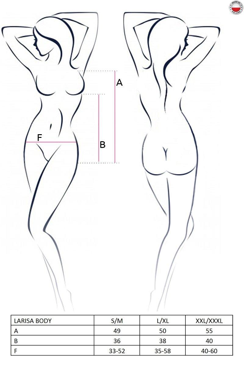 LARISA BODY czarne body