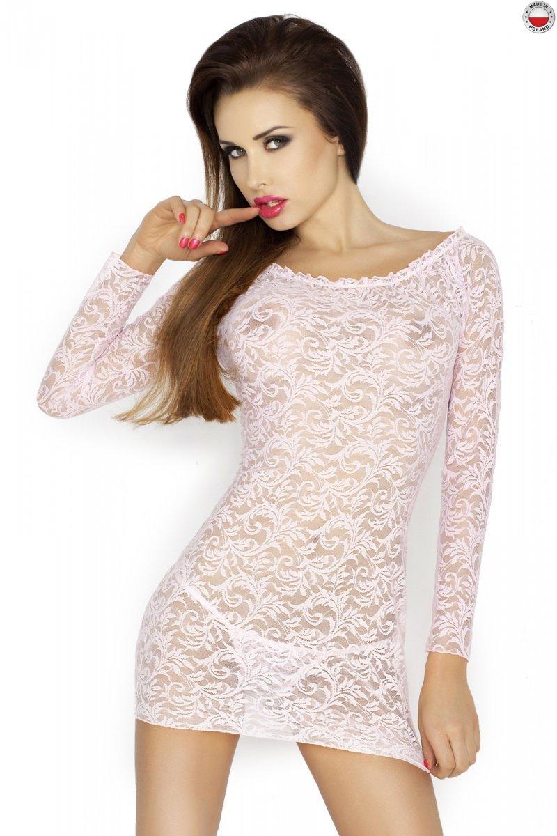 YOLANDA CHEMISE różowa koszulka nocna