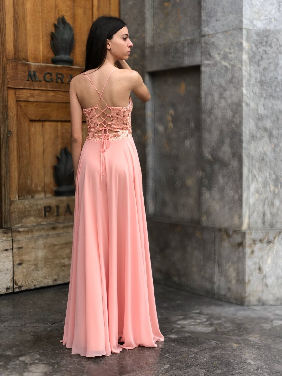 Vestiti Eleganti Femminili.Abiti Eleganti Vestito Femminile Cerimonia Gogolfun It