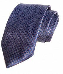 Cravatta Uomo - Fantasia - Blu