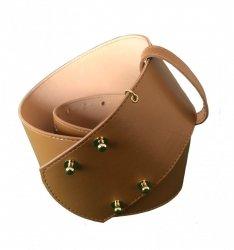 Cintura larga - Roberta Biagi - Cinturone color camello
