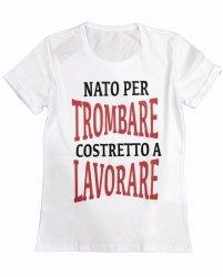 T-shirt uomo - Maglietta con scritte - Bianca
