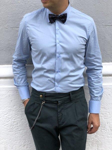 Camicia bianca uomo - Camicie collo classico - Slim