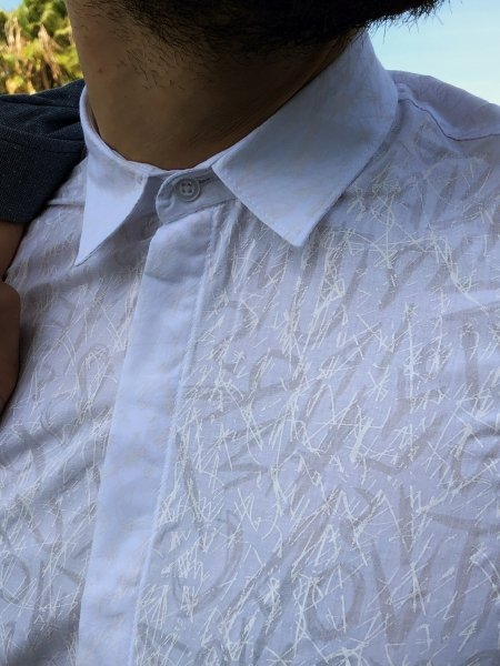 Camicia uomo slim fit - Camicia bianca elegante