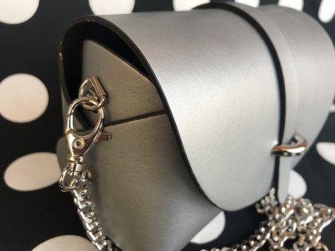 Idee regalo - Borsetta piccola a tracolla - Borsa argento - Compra da Gogoglfun.it