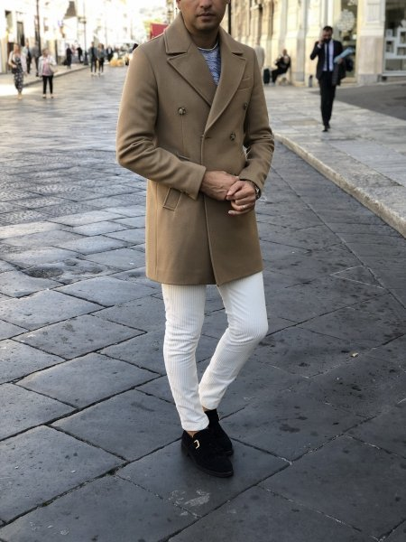 Cappotto cammello - Abbigliamento uomo - Gogolfun.it