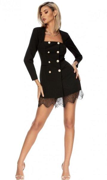 Vestito blazer - Corto - Elegante - Vestito corto elegante - Gogolfun.it