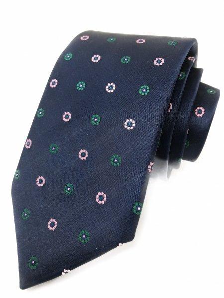 Cravatte uomo - Floreali - Blu - Gogolfun.it