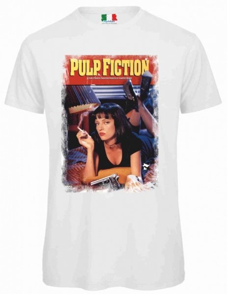 Maglietta bianca - Pulp fiction - Gogolfun.it