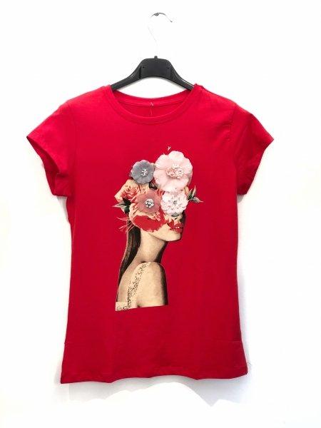 T-shirt donna - Rossa - T-shirt gioiello - Negozio gogolfun.it