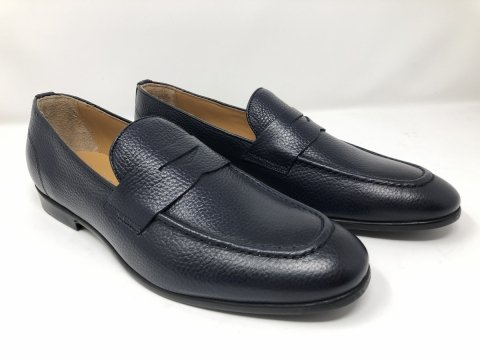 Loafer blue - Made in Italy - Gogolfun.it