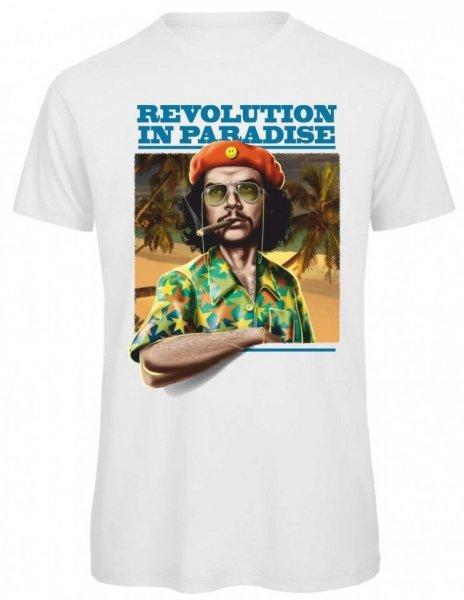 T shirt bianca - Disegno Vintage - T-shirt Gogolfun.it
