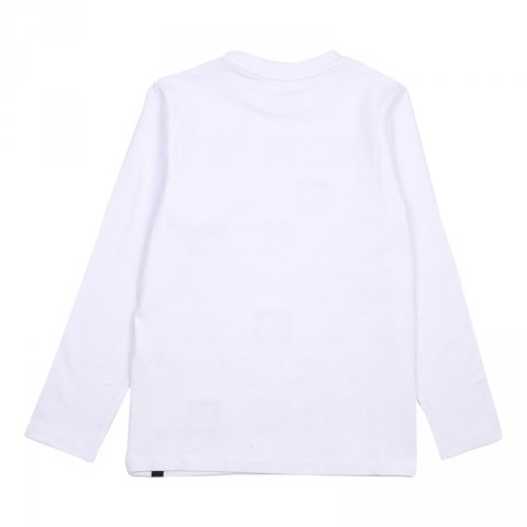 T shirt bambino, bianca a maniche lunghe - Daniele Alessandrini