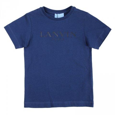 Maglietta bambino, blu - Lanvin - Abbigliamento bambini - Gogolfun.it