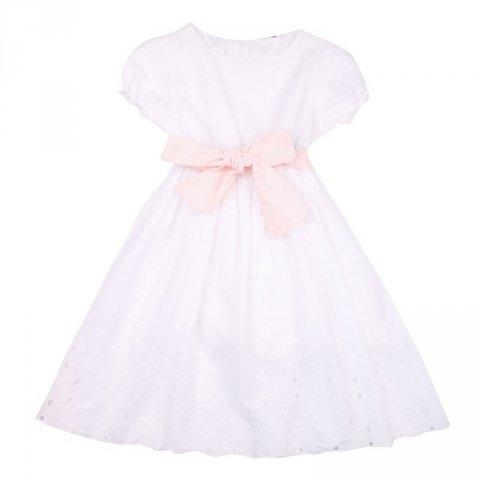 Abito bianco bambina - Kids Company - Abbigliamento bambini online - Gogolfun.it