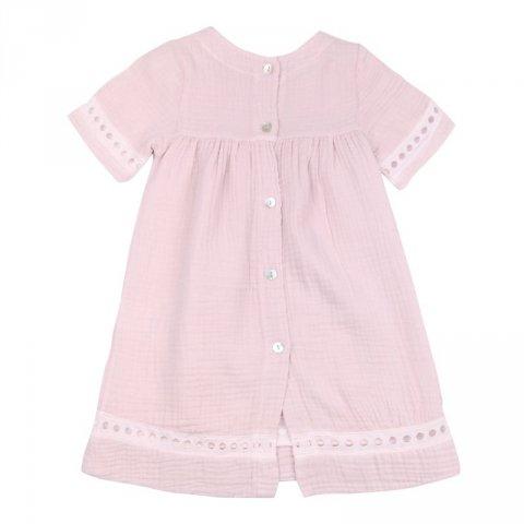 Abito rosa antico neonata - Kids Company - Gogolfun.it