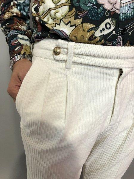 Spodnie męskie- Model Chinos – Paul Miranda – Made In Italy - Odzież męska - Gogolfun.pl
