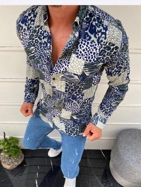 Camicia uomo, slim - Abbigliamento uomo gogolfun.it