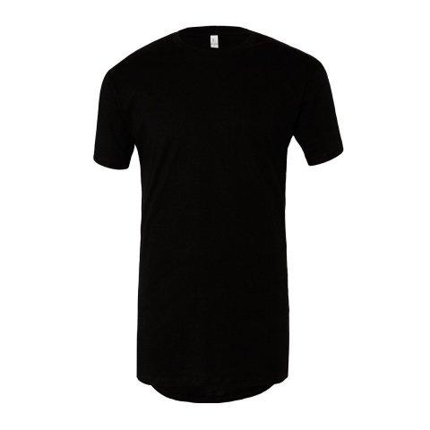 T shirt nera - Lunga - Gogolfun.it