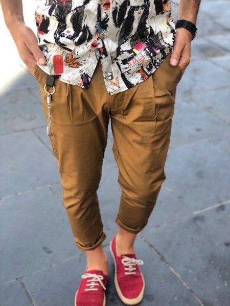 Pantaloni uomo  - Slim -  Negozio di abbigliamento Gogolfun.it