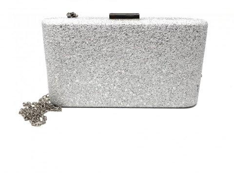 Pochette argento cerimonia - Pochette elegante - Online Gogolfun.it