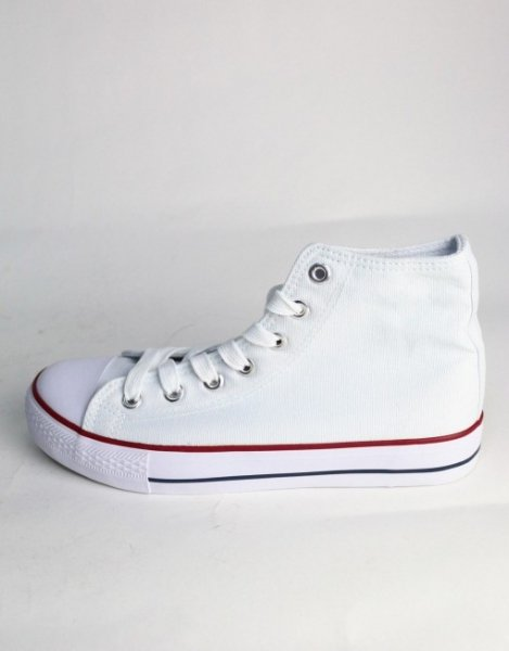 Sneakers bianche simil converse - Bud spencer e terrence hill - Gogolfun.it
