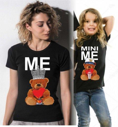 T shirt - Nere - Mamma figlia - Gogolfun.it