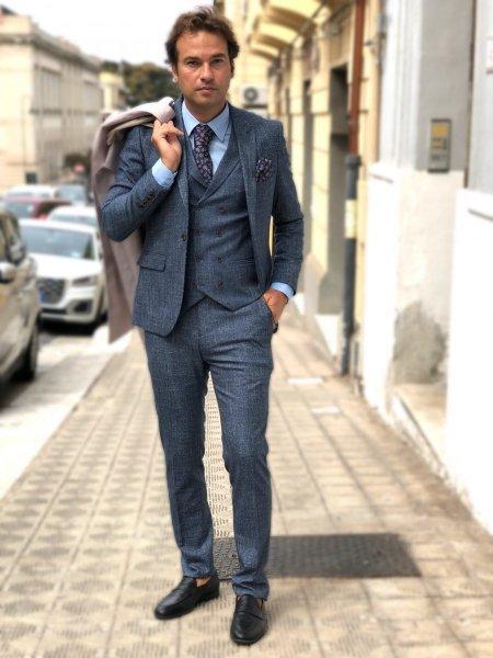 Abito uomo, con gilet - Abbigliamento uomo gogolfun.it