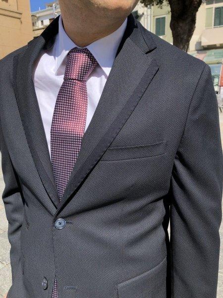 Garnitur męski w kolorze niebieskim - Made in Italy - Sklep Internetowy - Gogolfun.it