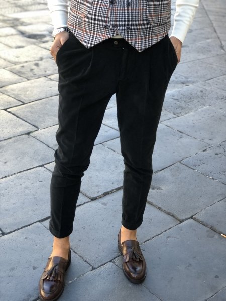 Pantaloni, neri - Abbigliamento gogolfun.it