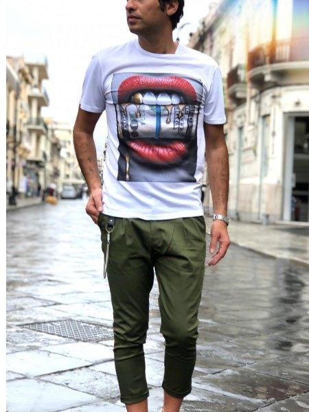 Pantaloni - Capri - Verdi - Gogolfun.it