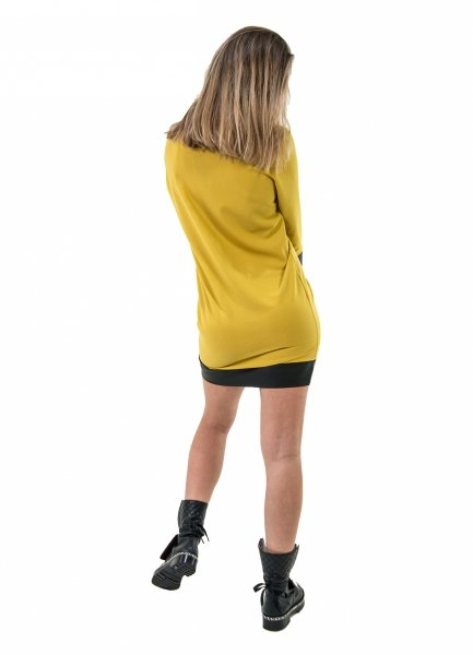Abitino corto - Abitini donna -Vestitino giallo - Gogolfun.it