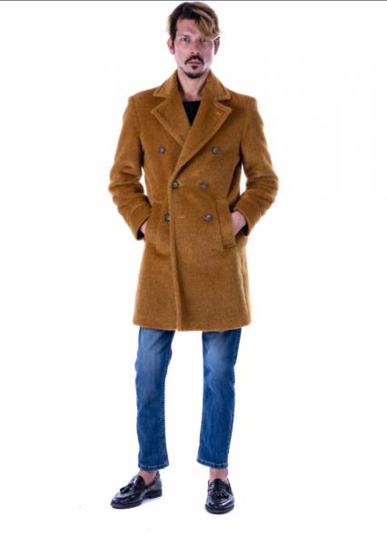 Cappotto cammello - Cappotto uomo - Cappotto uomo, teddy - Abbigliamento online - Gogolfun.it