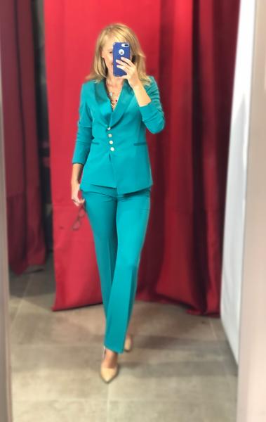 Tailleur donna, verde tiffany - abbigliamento donna gogolfun.it